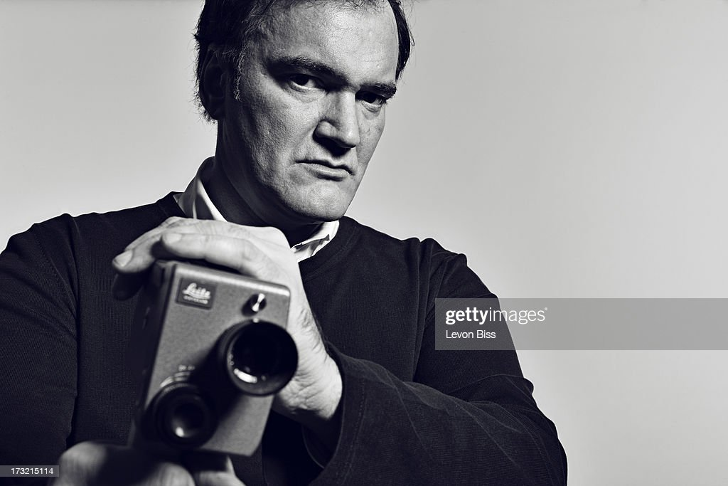 Film director <a gi-track='captionPersonalityLinkClicked' href=/galleries/search?phrase=Quentin+Tarantino&family=editorial&specificpeople=171796 ng-click='$event.stopPropagation()'>Quentin Tarantino</a> is photographed for Shortlist on December 7, 2012 in London, England.
