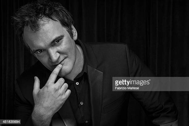 Film director Quentin Tarantino is photographed for the Hollywood Reporter on May 23 2014 in Cannes France