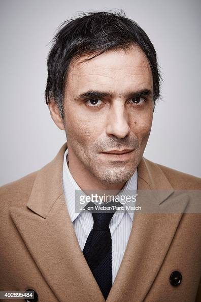 Film director Samuel Benchetrit is photographed for Paris Match on September 24 2015 in Paris France