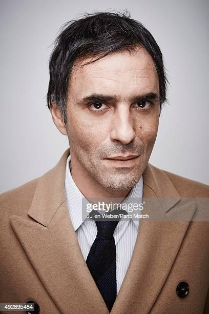 Film director Samuel Benchetrit is photographed for Paris Match on September 24 2015 in Paris France