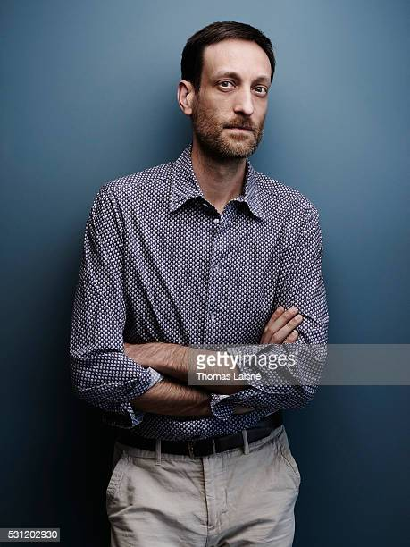 Film director Sebastien Laudenbach is photographed on May 12 2016 in Cannes France
