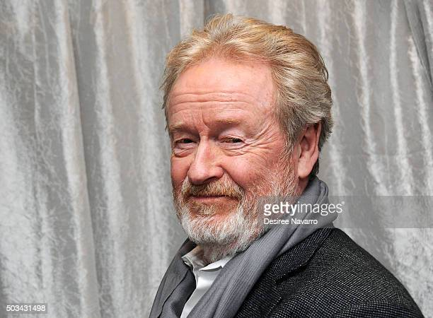 Film director Sir Ridley Scott attends AOL BUILD Series Drew Goddard and Sir Ridley Scott 'The Martian' at AOL Studios In New York on January 4 2016...
