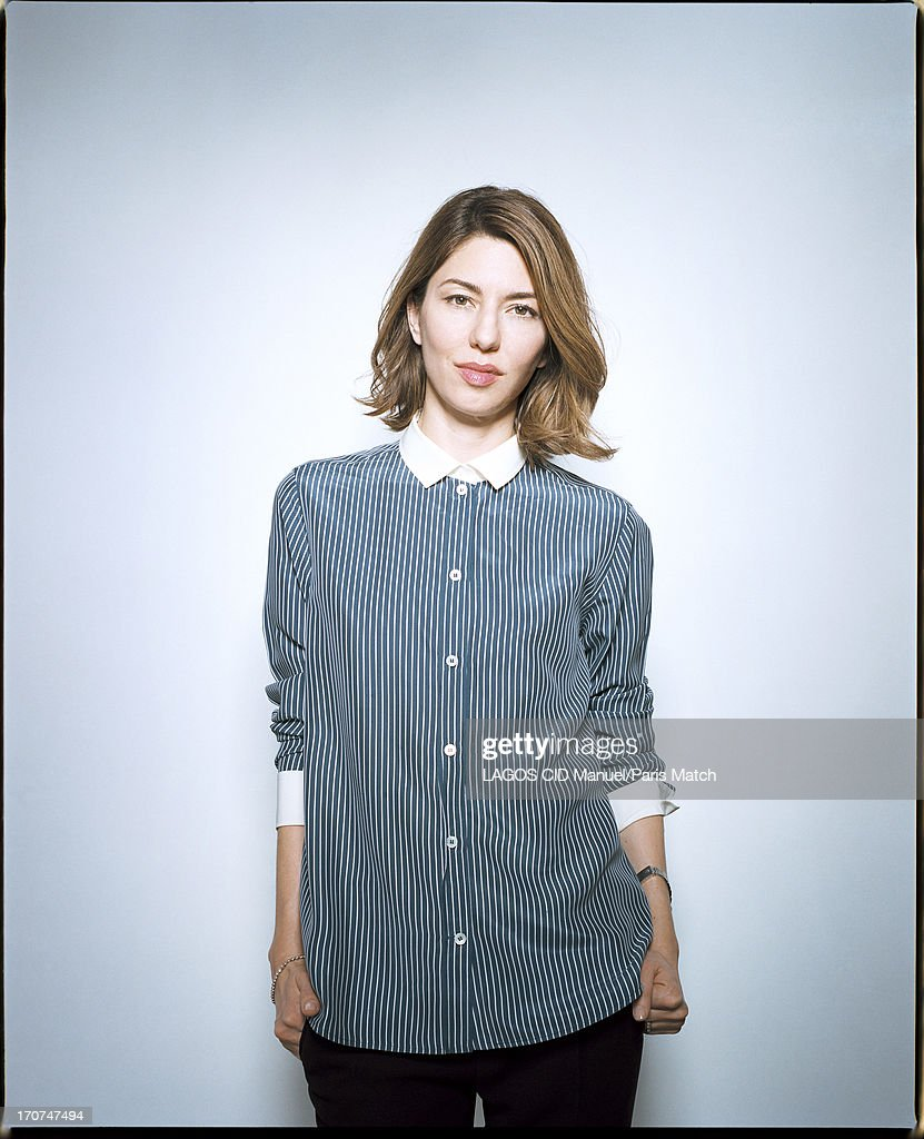 Film director <a gi-track='captionPersonalityLinkClicked' href=/galleries/search?phrase=Sofia+Coppola&family=editorial&specificpeople=202230 ng-click='$event.stopPropagation()'>Sofia Coppola</a> is photographed for Paris Match on May 25, 2013 in Paris, France.