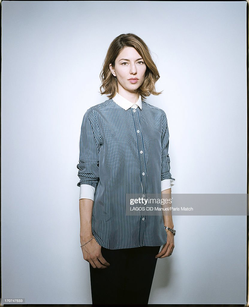 Film director Sofia Coppola is photographed for Paris Match on May 25, 2013 in Paris, France.