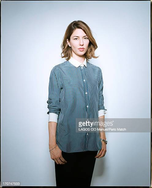 Film director Sofia Coppola is photographed for Paris Match on May 25 2013 in Paris France