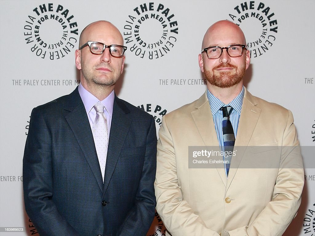 Film director <a gi-track='captionPersonalityLinkClicked' href=/galleries/search?phrase=Steven+Soderbergh&family=editorial&specificpeople=215049 ng-click='$event.stopPropagation()'>Steven Soderbergh</a> and brother Charlie Soderbergh attend The Paley Center For Media Presents: The Music And Life Of Marvin Hamlisch at Paley Center For Media on March 18, 2013 in New York City.
