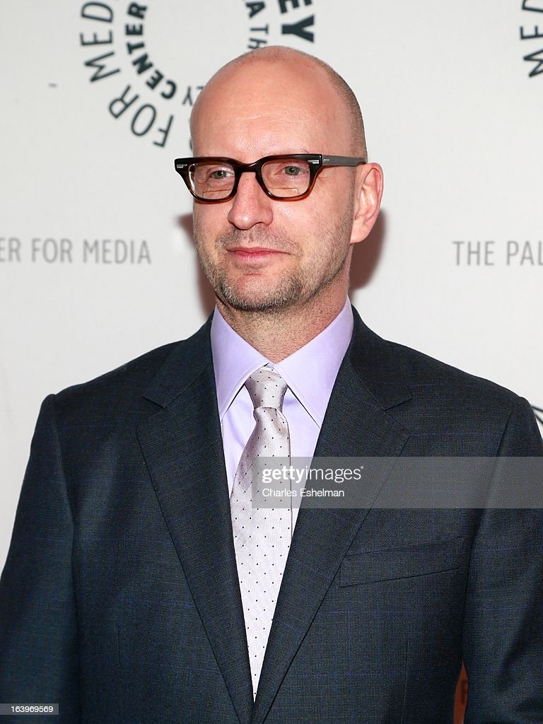Film director <a gi-track='captionPersonalityLinkClicked' href=/galleries/search?phrase=Steven+Soderbergh&family=editorial&specificpeople=215049 ng-click='$event.stopPropagation()'>Steven Soderbergh</a> attends The Paley Center For Media Presents: The Music And Life Of Marvin Hamlisch at Paley Center For Media on March 18, 2013 in New York City.