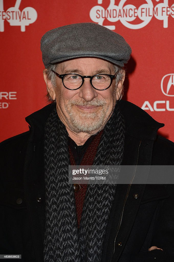 Film Director <a gi-track='captionPersonalityLinkClicked' href=/galleries/search?phrase=Steven+Spielberg&family=editorial&specificpeople=202022 ng-click='$event.stopPropagation()'>Steven Spielberg</a> attends the premiere of 'Young Ones' at the Eccles Center Theatre during the 2014 Sundance Film Festival on January 18, 2014 in Park City, Utah.