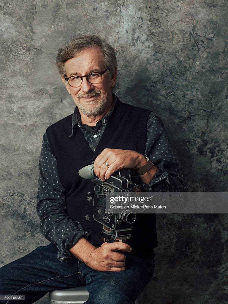 Film director <a gi-track='captionPersonalityLinkClicked' href=/galleries/search?phrase=Steven+Spielberg&family=editorial&specificpeople=202022 ng-click='$event.stopPropagation()'>Steven Spielberg</a> is photographed for Paris Match on September 29, 2015 in New York City.