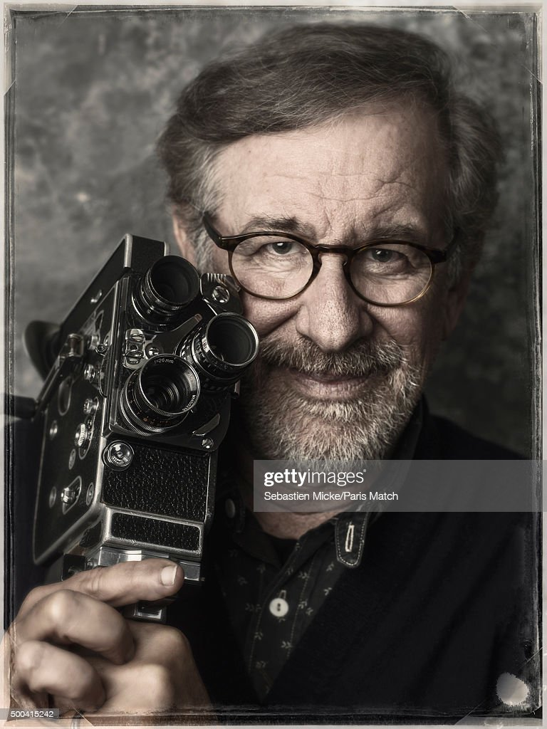 Film director Steven Spielberg is photographed for Paris Match on September 29, 2015 in New York City.