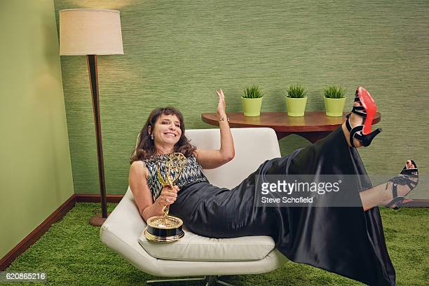 Film director Susanne Bier is photographed for Emmy magazine on September 18 2016 in Los Angeles California