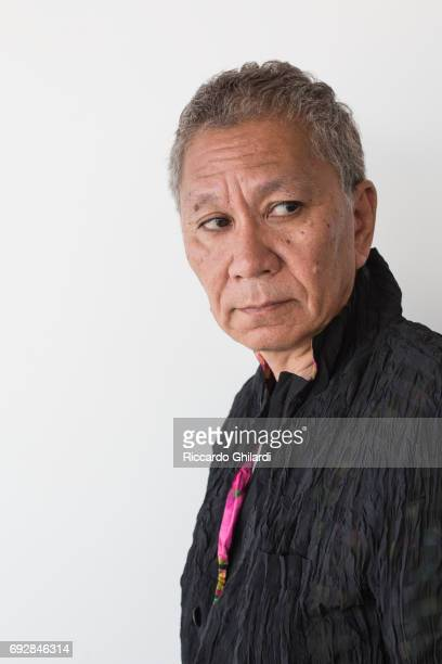 Film director Takashi Miike is photographed for Self Assignment on May 20 2017 in Cannes France