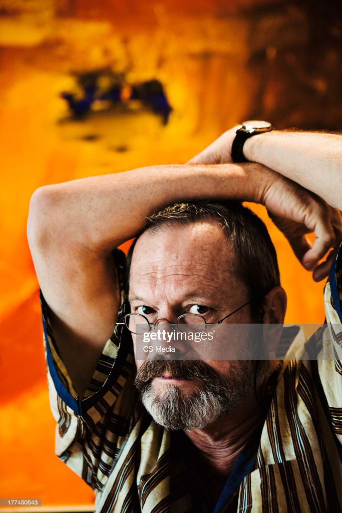 Terry Gilliam, Portrait shoot, September 17, 2009