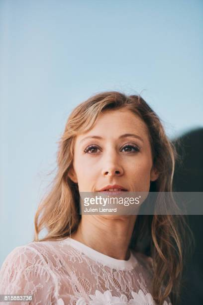 Film Director Virginie Schwartz is photographed for Self Assignment on June 17 2017 in Cabourg France