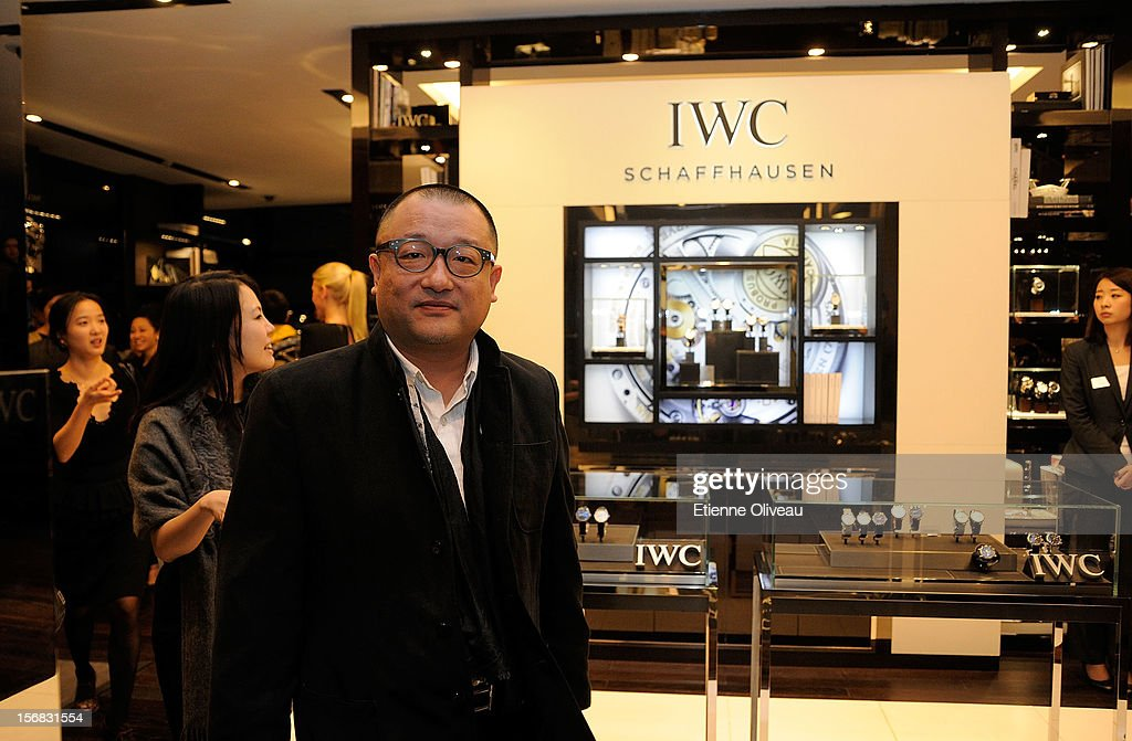 Film Director Wang Xiao Shuai is seen during the IWC Flagship Boutique Opening on November 22, 2012 in Beijing, China.