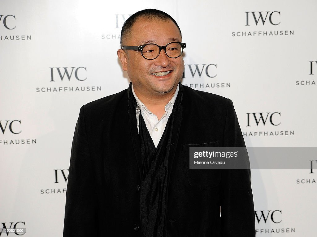 Film Director Wang Xiao Shuai poses for photographs during the IWC Flagship Boutique Opening on November 22, 2012 in Beijing, China.