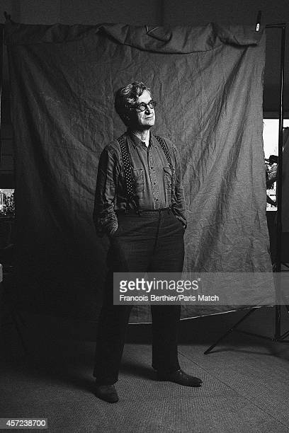 Film director Wim Wenders is photographed for Paris Match on May 20 2014 in Cannes France