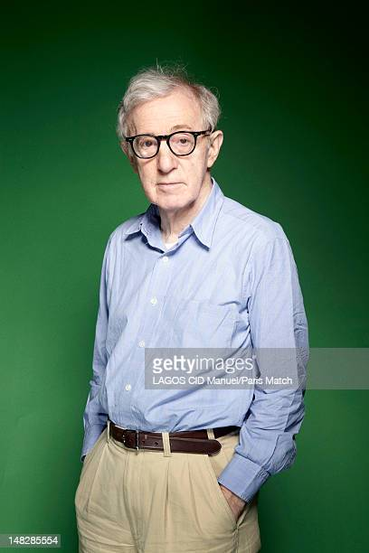 Film director Woody Allen is photographed for Paris Match on June 23 2012 in Paris France