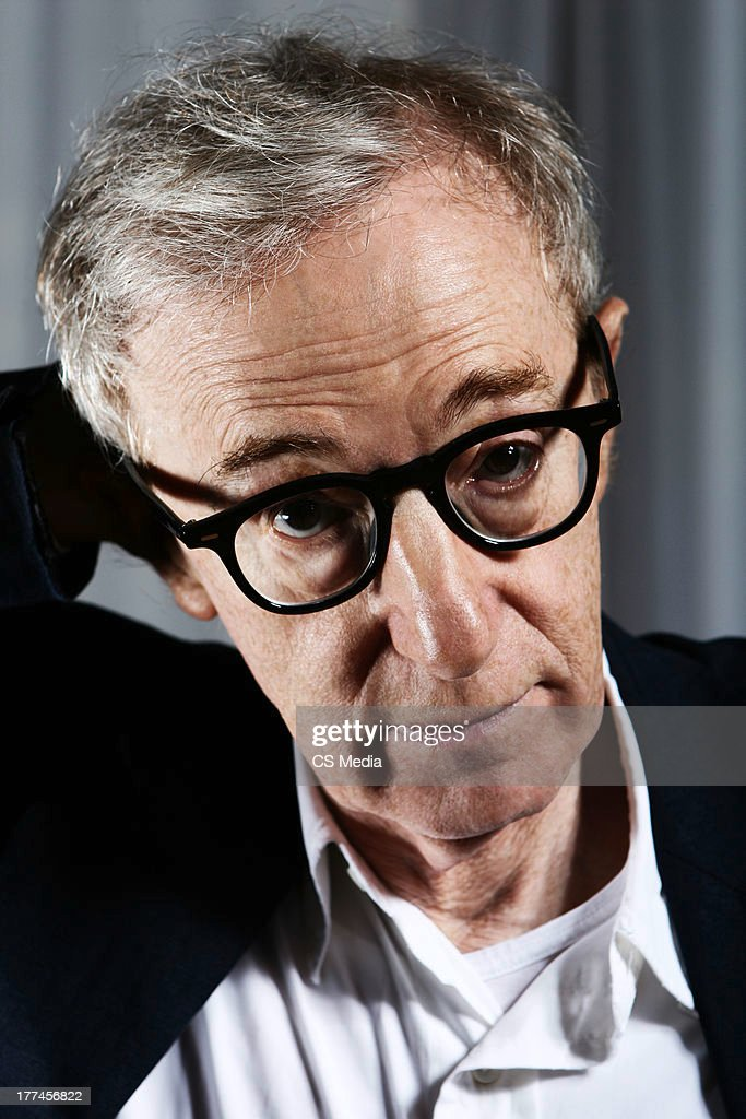 Woody Allen, Portrait shoot, September 1, 2007