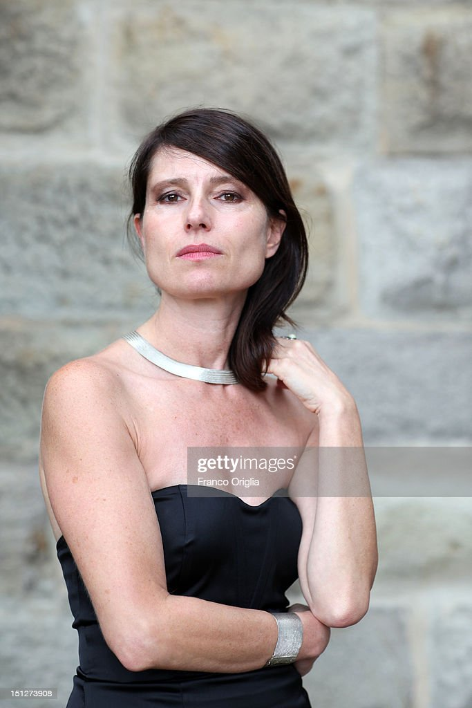 Film director Yesim Ustaoglu from the film 'Araf - Somewhere In Between' poses during the 69th Venice Film Festival at the Cinecitta Luce spaceon September 5, 2012 in Venice, Italy.
