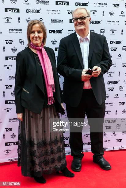 Film directors and producers Kate O'Callaghan and Patrick Farelly at the red carpet before the world premiere on their documentary 'Jaha's Promise'...