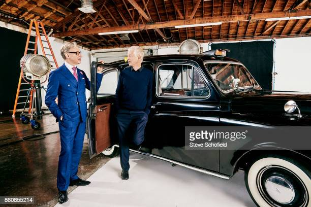 Film directors Paul Fieg and Richard Curtis are photographed for Empire magazine on February 17 2017 in Los Angeles California