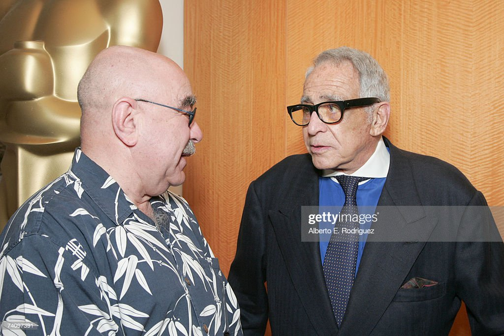 Film editor Alan Heim and Executive producer Daniel Melnick attend the AMPAS Great To Be Nominated Series screening of 'All That Jazz' on May 7 2007...