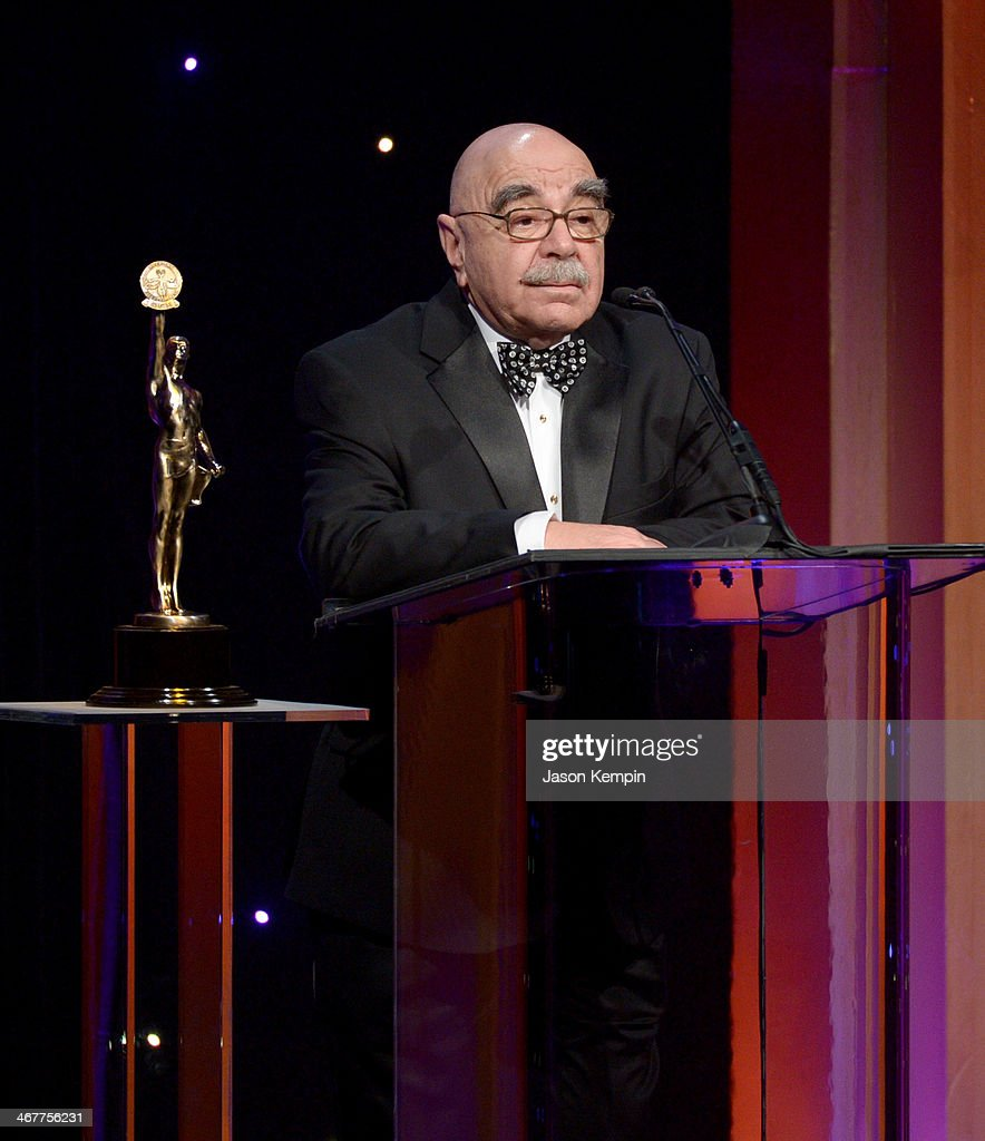 Film editor Alan Heim speaks onstage at the 64th Annual ACE Eddie Awards at Paramount Studios on February 7 2014 in Hollywood California