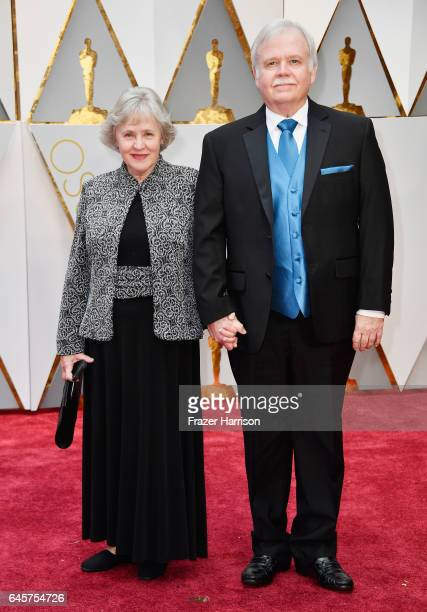 Film editor Bub Asman and guest attend the 89th Annual Academy Awards at Hollywood Highland Center on February 26 2017 in Hollywood California