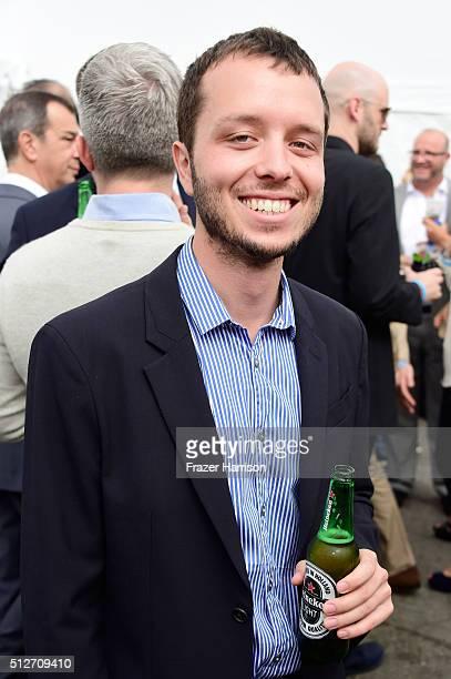 Film editor Felix Thompson attends the 2016 Film Independent Spirit Awards on February 27 2016 in Santa Monica California