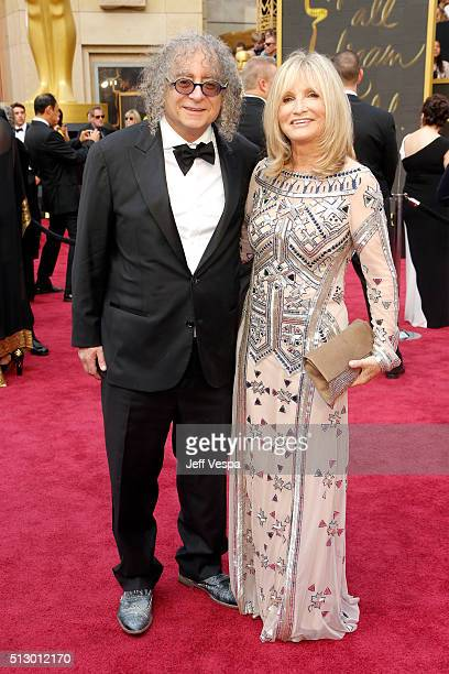 Film editor Hank Corwin and Nancy Corwin attend the 88th Annual Academy Awards at Hollywood Highland Center on February 28 2016 in Hollywood...