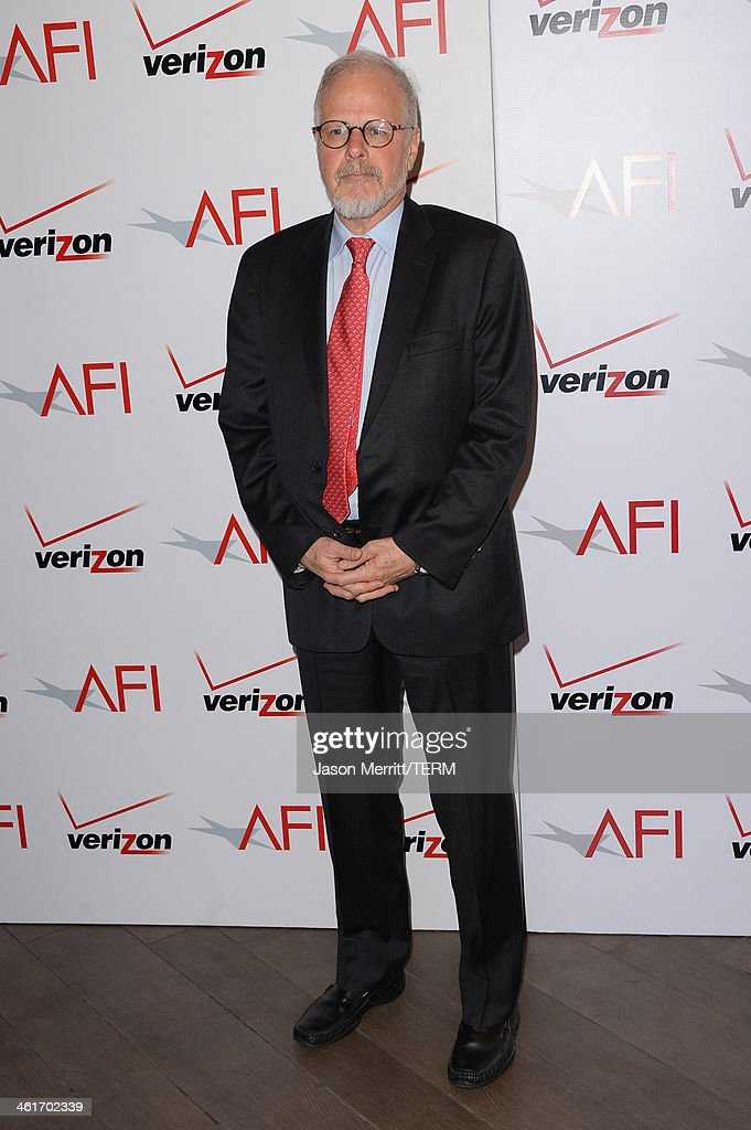 Film editor Jay Cassidy attends the 14th annual AFI Awards Luncheon at the Four Seasons Hotel Beverly Hills on January 10 2014 in Beverly Hills...