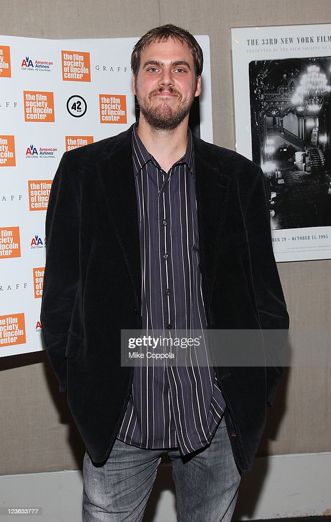 Film editor Jim Mickle attends the 'Stake Land' premiere at The Film Society of Lincoln Center on October 27, 2010 in New York City.