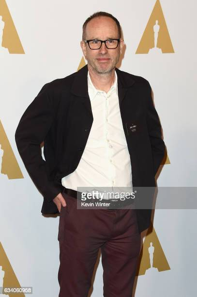 Film editor John Gilbert attends the 89th Annual Academy Awards Nominee Luncheon at The Beverly Hilton Hotel on February 6 2017 in Beverly Hills...