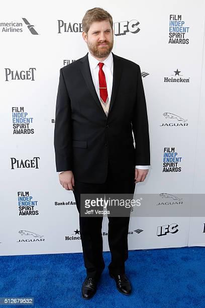 Film editor John Magary attends the 2016 Film Independent Spirit Awards on February 27 2016 in Santa Monica California