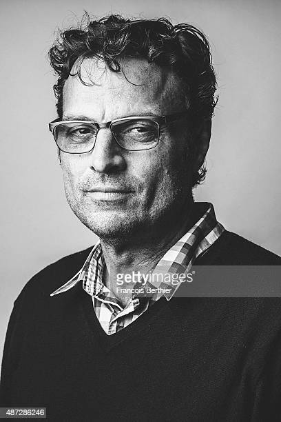 Film editor Michael Mees is photographed on September 7 2015 in Deauville France