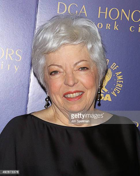 Film Editor Thelma Schoonmaker attends the DGA Honors Gala 2015 at the DGA Theater on October 15 2015 in New York City