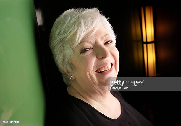 Film editor Thelma Schoonmaker is photographed for Los Angeles Times on April 19 2014 in New York City PUBLISHED IMAGE CREDIT MUST BE Carolyn...