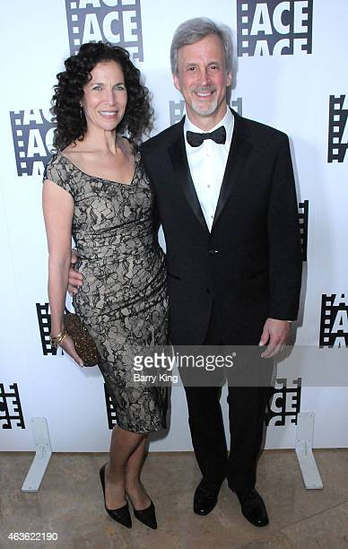 Film Editor William Goldenberg and guest attend the 65th annual ACE Eddie Awards at The Beverly Hilton Hotel on January 30 2015 in Beverly Hills...