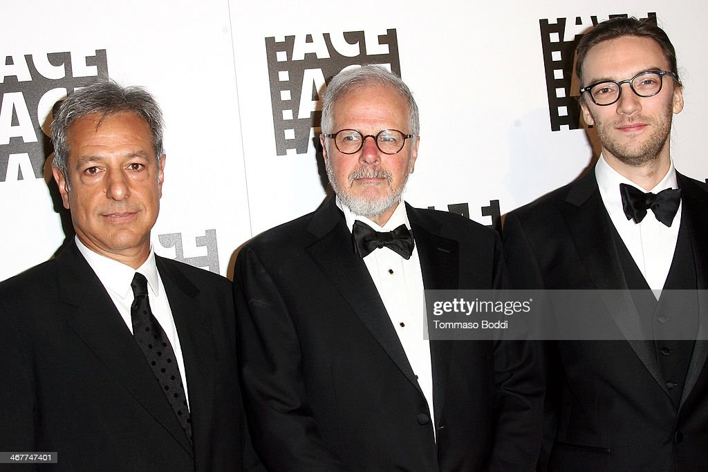 Film Editors Alan Baumgarten Jay Cassidy and Crispin Struthers attend the 64th Annual ACE Eddie Awards held at The Beverly Hilton Hotel on February 7...