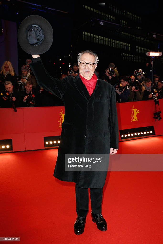 Film festival director Dieter Kosslick attends the 'Hail, Caesar!' premiere during the 66th Berlinale International Film Festival Berlin at Berlinale Palace on February 11, 2016 in Berlin, Germany.