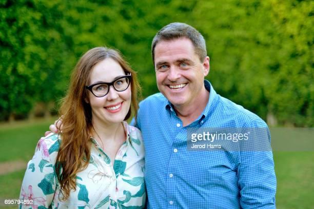 Film Festival Director Jennifer Cochis and Film Independent President Josh Welsh attend the 2017 LA Film Festival Filmmaker Retreat at the Parker...