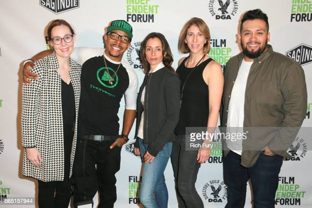Film Festival Director Jennifer Cochis founder of Everybody Digital Allen Maldonado cofounder of Opaque Studios Mariana Acuña filmmaker Jessica...