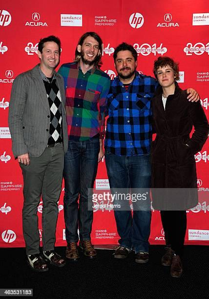Film Festival Director of Programming Trevor Groth Programmer Sundance Film Festival Charlie Reff director David Wnendt and actress Carla Juri attend...