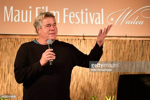 Film Festival founder Barry Rivers speaks during the 'Celestial Cinema' on day two of the 2017 Maui Film Festival at Wailea on June 22 2017 in Wailea...