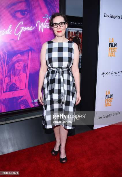 Film Festvial Director Jennifer Cochis attends the Closing Night Screening of 'Ingrid Goes West' during the 2017 Los Angeles Film Festival at...