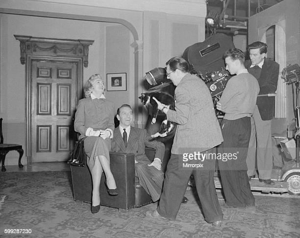 Film Filming 'Stolen Face' Lizabeth Scott and Paul Henreld Greated B5374/2