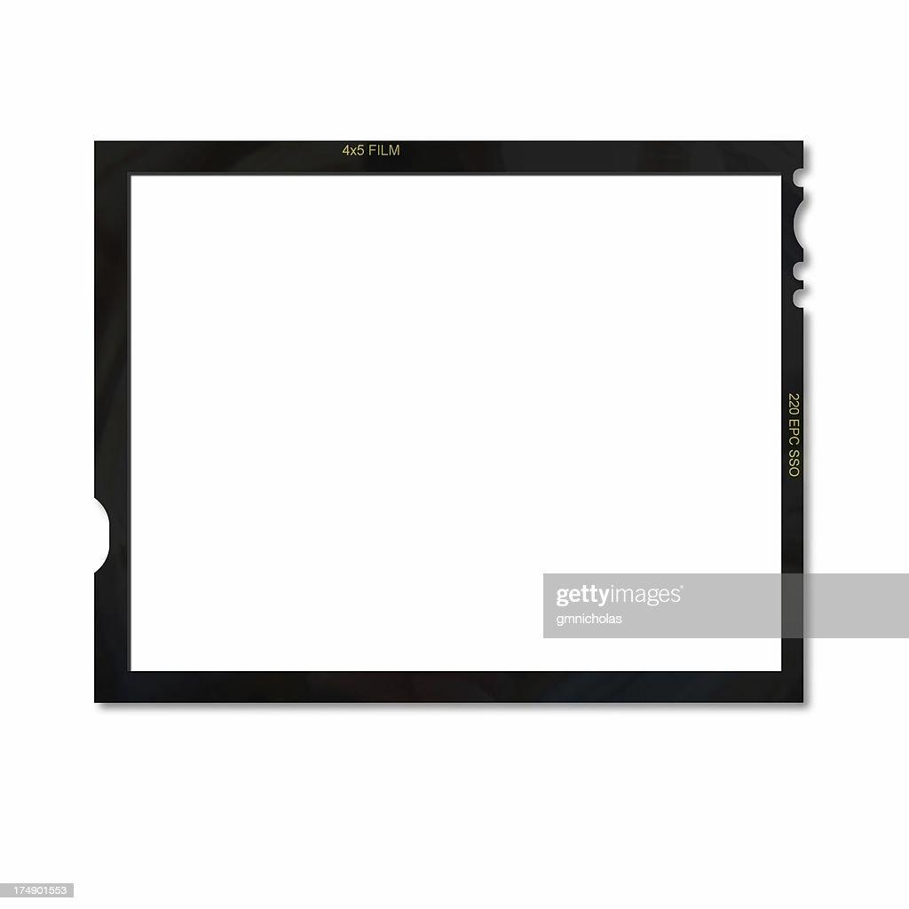 film frame 4x5