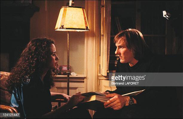 Film 'Green card' by Peter Weir in New York United States on April 17 1990 Gerard Depardieu and Andie McDowell