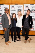 Film Independent at LACMA Film Curator Elvis Mitchell actress Ellen Page actress and writer Brit Marling and writer and director Zal Batmanglij...